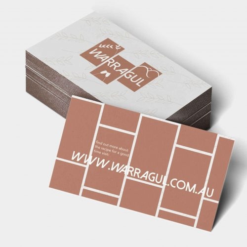 Business cards for Warragul
