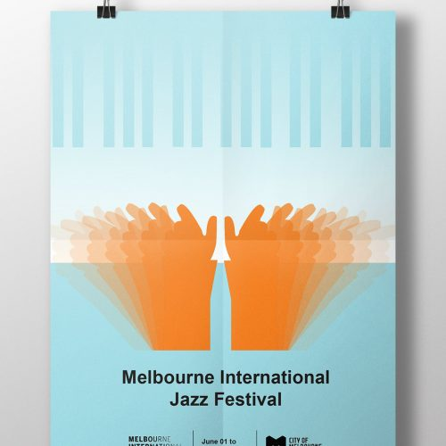 Melbourne International Jazz Festival poster