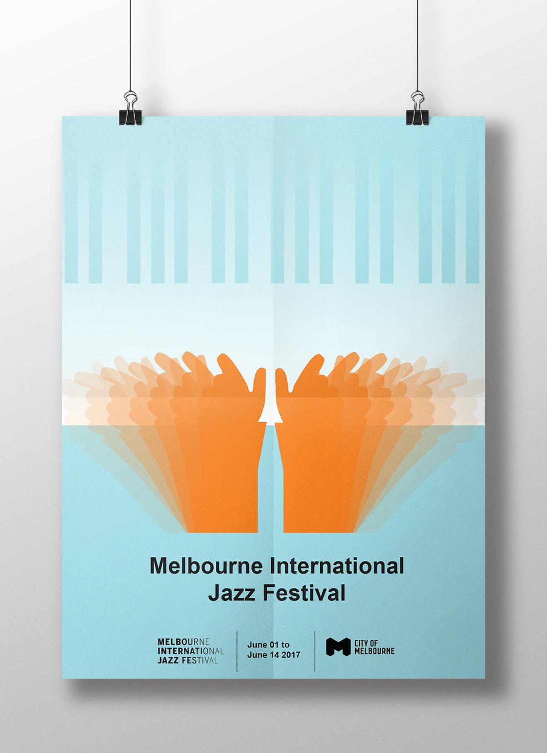 Melbourne International Jazz Festival poster