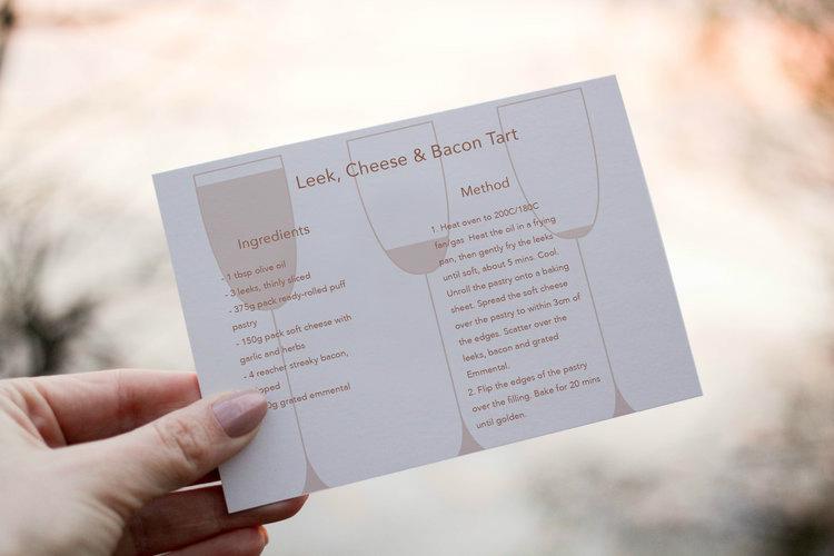 Recipe Card for Warragul