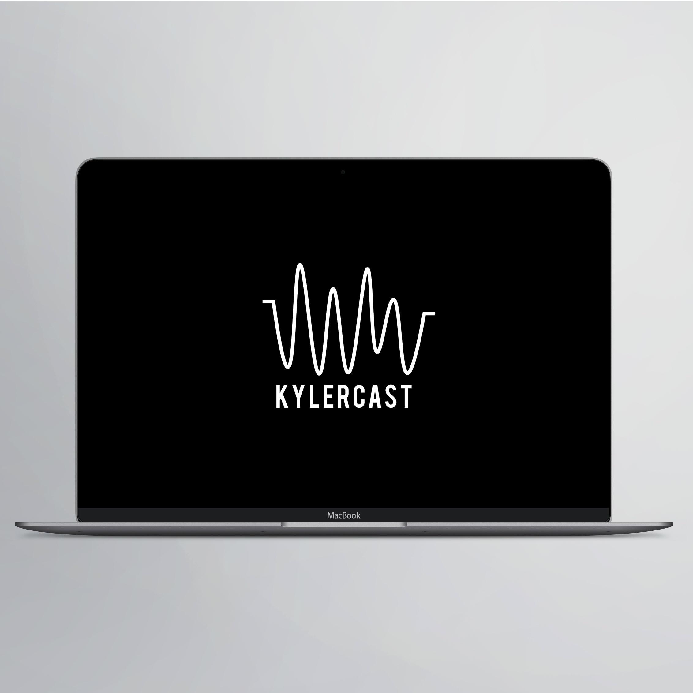 Kylercast logo design